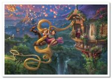 Fairy-tale Thomas Kinkade Disney Women  Wonder Super  CARTOON Postcard