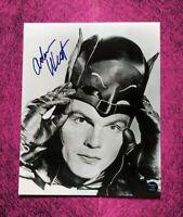 Adam West Hand Signed Autograph 8x10 Photo COA Batman