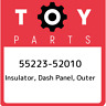 55223-52010 Toyota Insulator, dash panel, outer 5522352010, New Genuine OEM Part