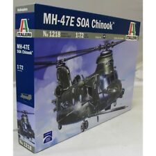 ITALERI 1:72 1218 MH-47 E SOA CHINOOK HELICOPTER MODEL AIRCRAFT KIT
