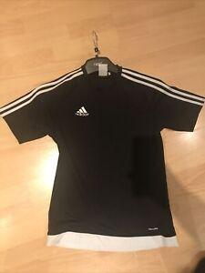 Black Adidas Climate T Shirt Uk S