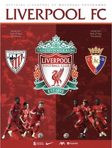Liverpool v Athletic Bilbao - Pre-Season Friendly - 08 August 2021 - Official