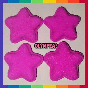 💖4x Olympea* Mini Star Bath Bombs 💖