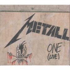 METALLICA One CD German Vertigo 1993 4 track live RARE re issue