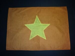 Vietnam War VC NVA North Vietnamese Army Battle Flag Vintage