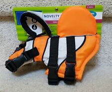 NEW TOP PAW NOVELTY LIFE  Clown Fish DOG JACKET XS  5-15 lbs