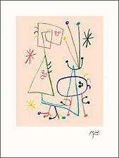 "JOAN MIRO ORIGINAL PLATE SIGNED 1947 LITHOGRAPH:  ""PARLER SEUL"""
