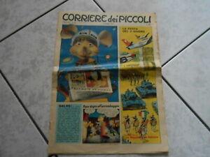 rivista a fumetti-CORRIERE DEI PICCOLI n.23-1961-LA FESTA DEL 2 GIUGNO LE REPUB.