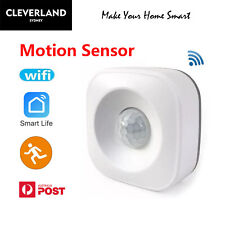 AU Smart Home WiFi wireless Motion sensor Alert home Security Google home Alexa