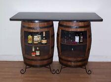 Double Whiskey Barrel Bar