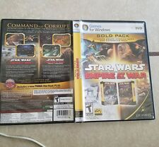 star wars empire at war gold pack replacement case only
