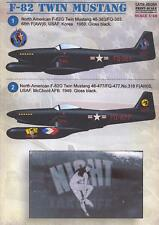 Print Scale Decals 1/48 NORTH AMERICAN F-82 TWIN MUSTANG