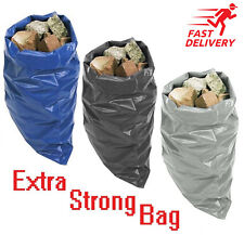EXTRA STRONG RUBBLE BAGS/SACKS BUILDERS WASTE GARDENING