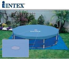 INTEX COPERTURA FRAME 28031 TELO COPRI PISCINA PISCINE CM 366 58411 mshop