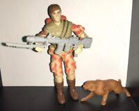 Vintage Hasbro GI Joe Action Figure 1988 Spearhead and Max