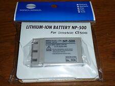 Genuine Minolta OEM NP-500/NP-600 Battery for DiMAGE G400 G500 G530 G600 DR-LB4