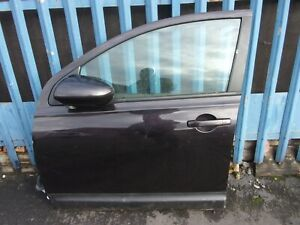 Nissan Qashqai Plus +2 2007-2013 N/S Passenger Side Rear Complete Door in Purple