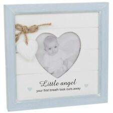 Shabby Chic Provence Message Heart Frame ~ Baby Boy