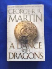 A DANCE WITH DRAGONS - FIRST EDITION BY GEORGE R.R. MARTIN