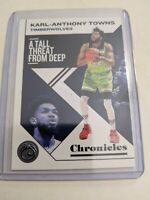 2019-2020 Panini Chronicles Karl Anthony Towns Timberwolves GEM MINT #17