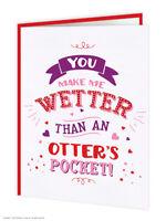 Rude Valentines Day Card Cheeky Comedy Humour Boyfriend Girlfriend Husband Wife