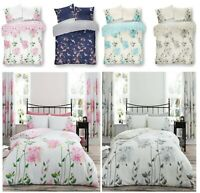 Design CAMILA AKIRA Floral Flower Printed Duvet Quilt Cover Set Bed Set All Size