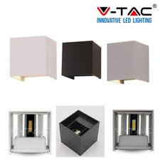 V-TAC LAMPADA FARETTO LED VT-759 12W IP65 CON DOPPIA LUCE REGOLABILE APPLIQUE DA