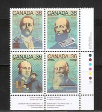 Canada SC # 1138a Canada Day , Science and technology. MNH