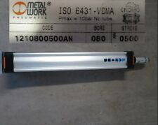 Metalwork Pneumatic Cylinder 1210800500AN ISO6431