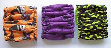 3 pk SMALL Male Dog Diaper Spiders Bats Belly Band Elastic 10 11 12 in Wrap