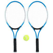 2Pcs Kinder Tennisschläger String Tennisschläger mit 1 Tennisball Cover Bag O6W3