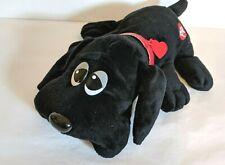 "Tonka Pound Puppies Plush 2014 Black & Red Collar 18"""