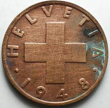 1948  Svizzera Switzerland  2  Rappen