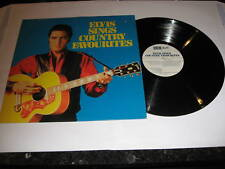 ELVIS PRESLEY - Elvis Sings Country Favourites - LP