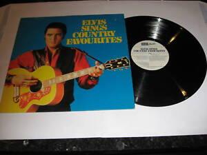 ELVIS PRESLEY - Elvis Sings Country Favourites - LP