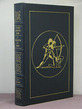 At the Earth's Core / A Princess of Mars by Edgar Rice Burroughs, Easton Press