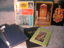 lot old ART BOOKS History of American Art Spanish Painting Cooper Union Florence