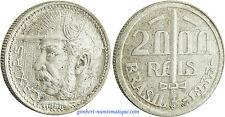 BRESIL  ,  2000  REIS  BRONZE  ALU  1938  ,  DUKE  OF  CAXIAS  ,  SUPERBE