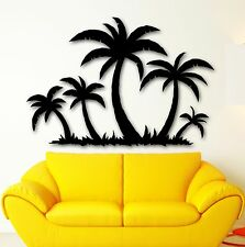 Vinyl Decal Palms Tropical Tree Decor Beach Relax Wall Stickers Mural (ig1769)
