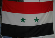 Bandiera Siria 100x150ca. pongè
