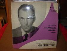"IGOR MARKEVITCH / DUKAS l'apprenti sorcier ( classical ) - 7"" / 45 -"