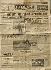 Journal l'Equipe n°1031 - 1949 - Alex Jany - Jo Bernardo - Arthur Wint - Ventoux
