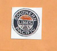 """SOUTHERN PACIFIC LINES  RAILROAD DECAL STICKER  1 3/8"""""""