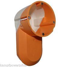 F-tronic E5000 Elektronikdose für Hohlwand Hohlwanddose orange winddicht