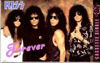 Kiss Gene Simmons Ace Forever 1989 Hard Classic Rock Cassette Tape Single Metal