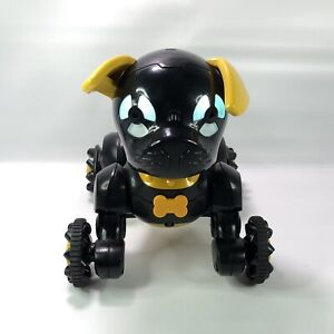 WowWee Chippies Robot Toy Dog - Chippo Black Gold - No Remote 2016