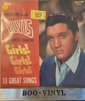 Elvis Presley - Girls! Girls! Girls! - 1977 Vinyl LP - RCA Victor PL 42354