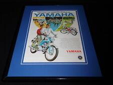 1966 Yamaha Twin Jet 100 11x14 Framed ORIGINAL Vintage Advertisement