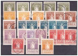 Grönland: Gutes Lot Paketmarken ex Nr. 4/11 */gestempelt, Michel: 2070 Euro