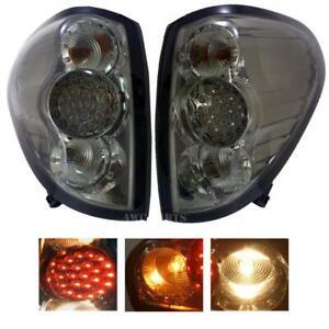 Tail Light Lamp Black Smoke Lens LED For Mitsubishi Triton L200 MN ML 2005-2014